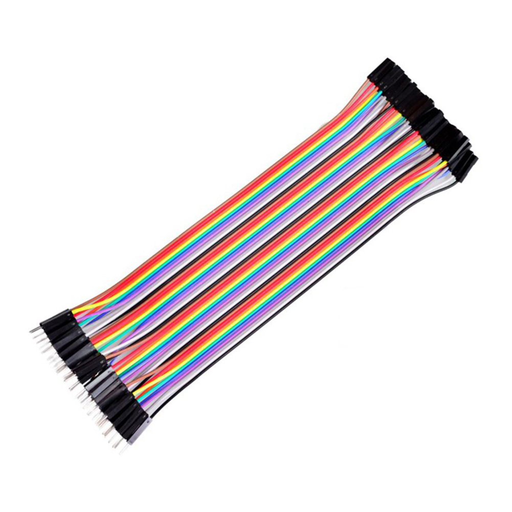 10//20//30cm 40 Pin M-M//F-F//M-F Breadboard Dupont Jumpers Wire Cable for Arduino